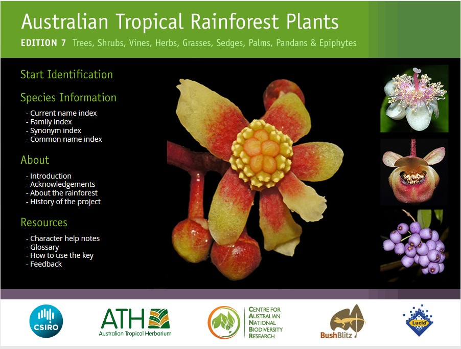 Australian Tropical Rainforest Plants guide edition 7